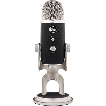 Blue Yeti Pro USB Microphone - Ultimate USB & XLR microphone - 3 condenser capsules - 4 recording patterns - 20Hz - 20kHz