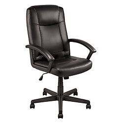 OfficeMax Fausto I Leather Executive Chair