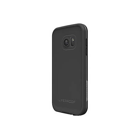 """LifeProof FR? for Galaxy S7 Case - For Smartphone - Black - Water Proof, Dirt Proof, Dust Proof, Snow Proof, Drop Proof, Shock Resistant, Vibration Resistant, Bump Resistant, Damage Resistant - Polycarbonate, Silicone - 79.20"""" Drop Height"""