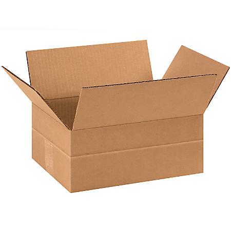 "Office Depot® Brand Multi-Depth Corrugated Cartons, 4 3/4 x 11 3/4"" x 8 3/4"", Kraft, Pack Of 25"