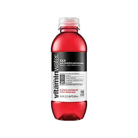 Glacéau vitaminwater™ XXX, 16.9 Oz, Pack Of 24