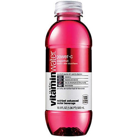 Glacéau vitaminwater™ Power C, 16.9 Oz, Pack Of 24