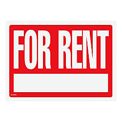 Cosco For Rent Sign With Stake
