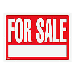Cosco For Sale Sign and Stake