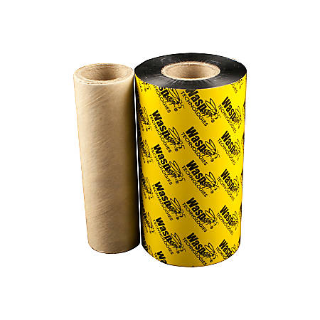 Wasp Black Resin Ribbon - Thermal Transfer - Black