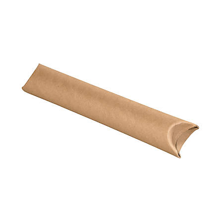 """Office Depot® Brand Economy Crimped-End Mailing Tubes, 2 1/2"""" x 24"""", 80% Recycled, Pack Of 34"""