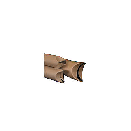 """Office Depot® Brand Economy Crimped-End Mailing Tubes, 3"""" x 36"""", 80% Recycled, Pack Of 24"""