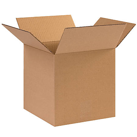 "Office Depot® Brand Corrugated Cartons, 10"" x 10"" x 10"", Kraft, Pack Of 25"