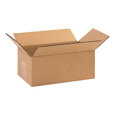 "Office Depot® Brand Corrugated Cartons, 10"" x 6"" x 4"", Kraft, Pack Of 25"