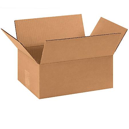 "Office Depot® Brand Corrugated Cartons, 11 3/4"" x 8 3/4"" x 4 3/4"", Kraft, Pack Of 25"