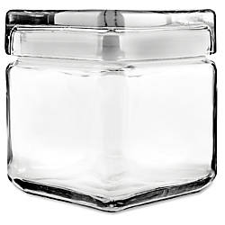 Office Settings Glass Jar 1 Quart