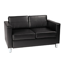 Ave Six Pacific Avenue Vinyl Loveseat