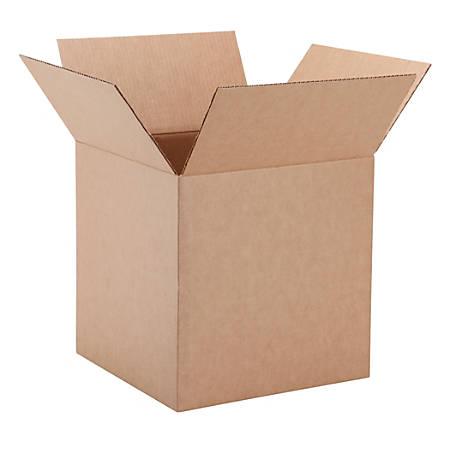 "Office Depot® Brand Corrugated Cartons, 16"" x 16"" x 16"", Kraft, Pack Of 25"