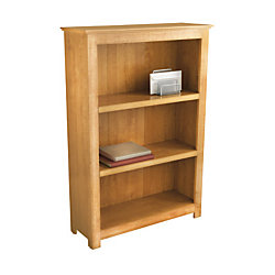 Officemax 3 Shelf Bookcase 45 1 4 H X 31