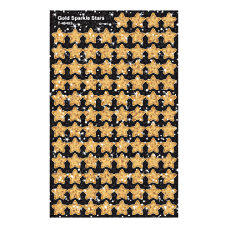 TREND superShapes Sticker Pack Gold Sparkle