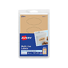 Avery Removable Multi Use Labels 40151