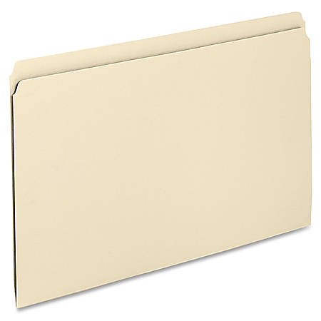 """Oxford® File Folders, 1/2 Cut, 9 1/2"""" x 11"""", Manila, Pack Of 100"""