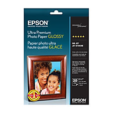 Epson Ultra Premium Glossy Photo Paper