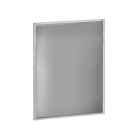 "Azar Displays Large-Format Steel Vertical/Horizontal Snap Frame, 28"" x 22"", Silver"