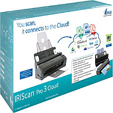 IRIS IRIScan Pro 3 Cloud Sheetfed