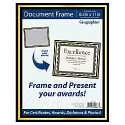 Geographics Document Frame 9 x 11