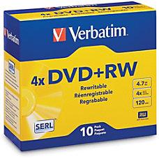 Verbatim QZ2776 DVDRW Disc Spindle Silver