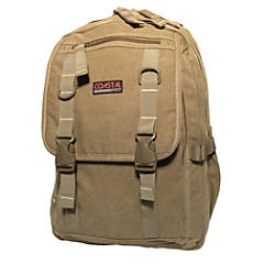 Coastal Canvas Deluxe Laptop Backpack With