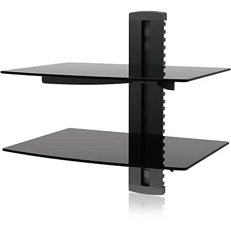 Ematic EMD212 Wall Mount for DVD Player, Gaming Console, Cable Box, DVR
