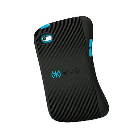 Speck Products DualFlex 1UP Case For 4th-Generation iPod touch®, Black/Peacock
