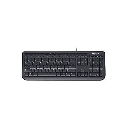 Microsoft® Wired Keyboard 600, Black