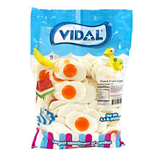 Vidal Giant Gummy Fried Eggs 44
