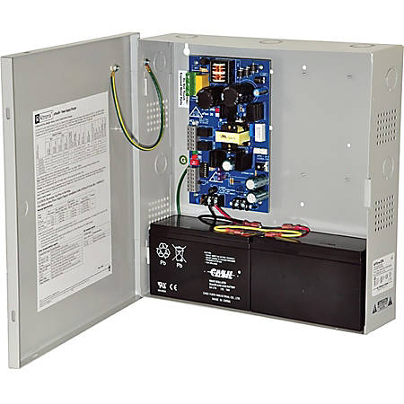 Altronix eFlow3N Power Supply/Charger - Wall Mount - 110 V AC Input