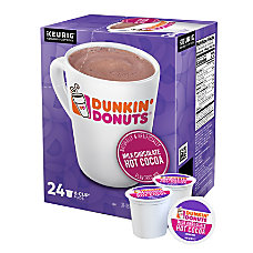 Dunkin Donuts Hot Cocoa K Cup
