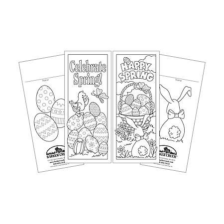 Barker Creek Bookmark Duets, Celebrate Spring, Pack Of 60