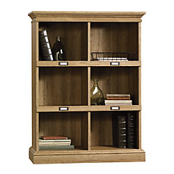 sauder barrister bookcase oak - Barrister Bookshelves