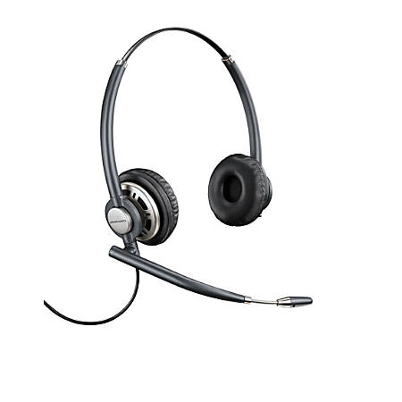Plantronics® EncorePro HW720 Over-The-Head Customer Service Headset, Black, 78714-101