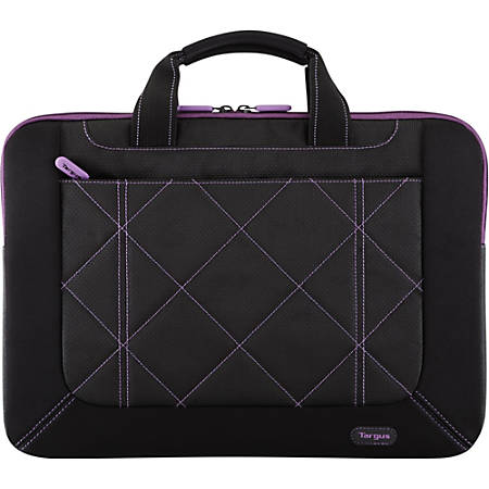 "Targus Pulse TSS57401US Carrying Case (Sleeve) for 16"" Notebook - Black, Purple"