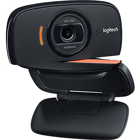 Logitech® B525 2-Megapixel Webcam, Black