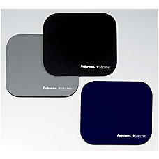 Fellowes Microban Mouse Pad Black 8