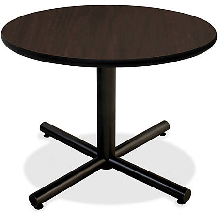 "Lorell® Hospitality Round Table Top, 42""W, Espresso"