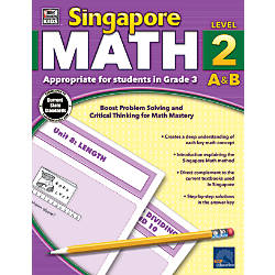 Thinking Kids Singapore Math Workbook Grade