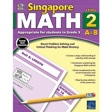 Thinking Kids'® Singapore Math Workbook, Grade 3