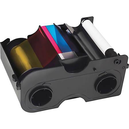 SICURIX® SRX45000 (Fargo® 45000) Remanufactured YMCKO Printer Ribbon Cartridge