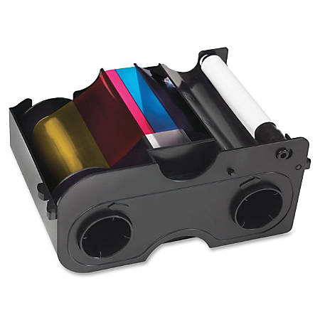 SICURIX® SRX45010 (Fargo® 45010) Remanufactured YMCKOK Printer Ribbon Cartridge