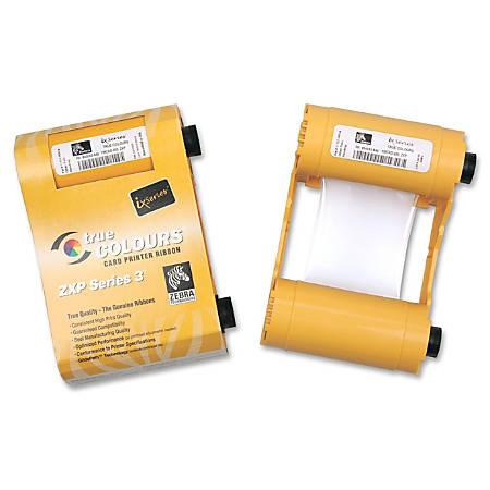 SICURIX® SRX800033840 (Zebra® 800033840) Remanufactured YMCKO Printer Ribbon Cartridge