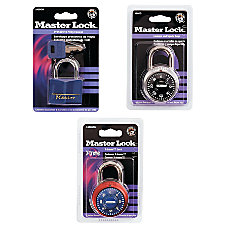 Master Lock Laminated Padlock Brass Blue