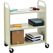 Bretford VF336 Combo Shelf Book Truck