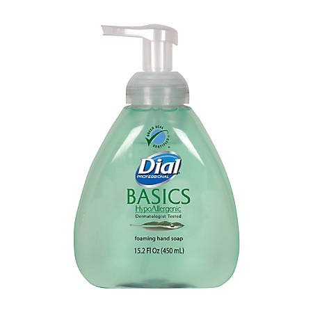 Dial® Basics Foaming Hand Soap With Pump, 15.2 Oz