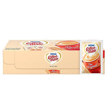 Nestle® Coffee-mate® Powdered Creamer Singles, Original, 0.1 Oz, Box Of 50