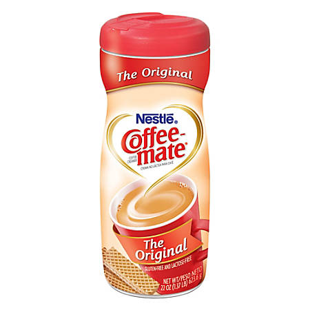 Nestle® Coffee-mate® Powdered Creamer Canister, Original, 22 Oz
